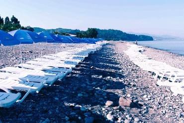 """фото Пляж, Отель """"Oasis"""", Грузия"""