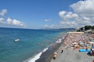 """фото пляж, Пансионат """"Сочи-Бриз Отель"""", Сочи"""