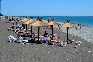 """фото Пляж, Гостиница """"Русские сезоны"""", Сочи"""