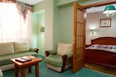 """фото Апартаменты 6-местный, 3-комнатный, Панорама с кухней, Пансионат """"Сочи-Бриз Отель"""", Сочи"""