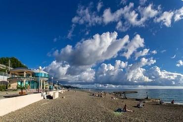"""фото Пляж, Оздоровительный комплекс """"Спутник"""", Сочи"""
