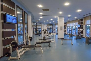 """фото тренажерный зал, Отель """"Kirman Hotels leodikya resort 5*"""", Аланья"""