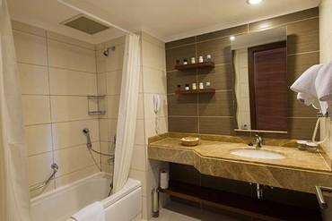 """фото ванная, Отель """"Kirman Hotels leodikya resort 5*"""", Аланья"""