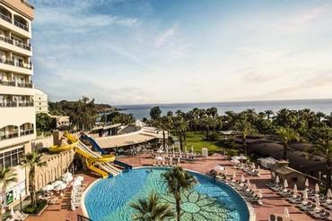 """фото отдых, Отель """"Kirman Hotels leodikya resort 5*"""", Аланья"""
