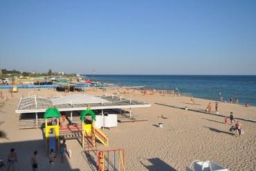 """фото Пляж, Пансионат """"Планета"""", Евпатория"""