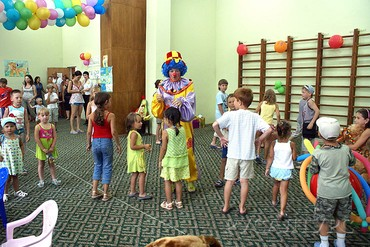 """фото Развлечение для детей, Пансионат """"Литфонд (Пицунда)"""", Абхазия"""
