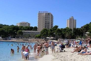 """фото Пляж, Отель """"Sol Barbados 4*"""", Майорка"""