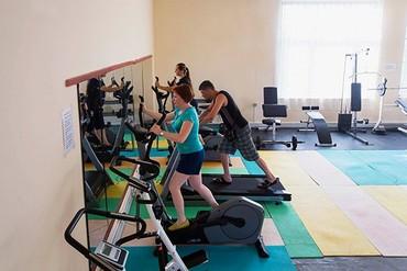 "фото Тренажерный зал, Пансионат ""Литфонд (Пицунда)"", Абхазия"