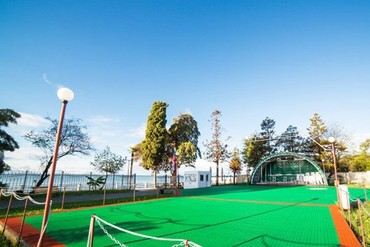 """фото Спортивная площадка, Отель """"Анакопия клаб"""", Абхазия"""