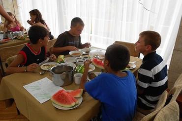 """фото Питание для детей, Санаторий """"Славутич"""", Алушта"""