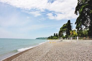 """фото Пляж, Отель """"Анакопия клаб"""", Абхазия"""