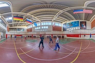"фото Спортивный зал, Санаторий ""Октябрьский"", Сочи"