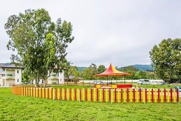 """фото Детская площадка, Отель """"Анакопия клаб"""", Абхазия"""