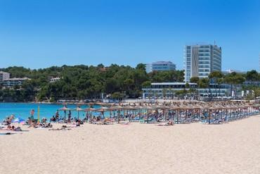 "фото пляж, Отель ""Meliá Calviá Beach 4*"", Майорка"