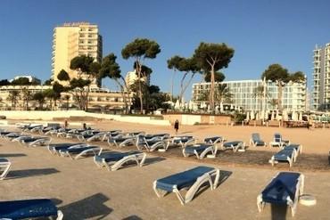 "фото Пляж, Отель ""Sol Guadalupe 4*"", Майорка"