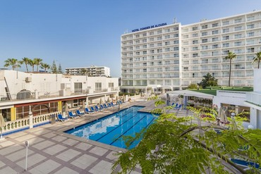 """фото бассейн, Отель """"Globales Condes de Alcudia 3*"""", Майорка"""