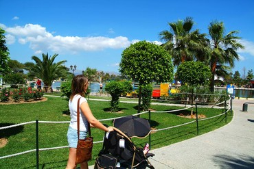 "фото Территория, Отель ""Family Life Alcudia Pins 3*"", Майорка"