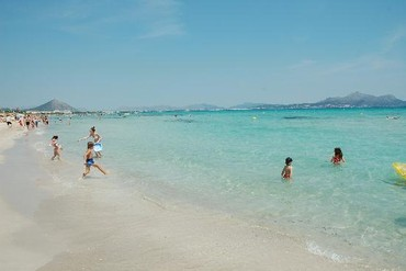 "фото Море, Отель ""Family Life Alcudia Pins 3*"", Майорка"