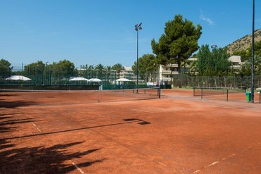 """фото Спортивная площадка, Отель """"Bellevue Club Minerva 3*"""", Майорка"""