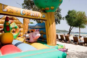"""фото Развлечение для детей, Отель """"Sol Alcudia Center Hotel Aptos 3*"""", Майорка"""