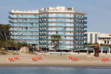 """фото Пляж, Отель """"Golden Donaire Beach 3*"""", Салоу"""