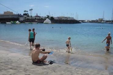 """фото Пляж, Отель """"Hovima Santa Maria 3*"""", Тенерифе"""