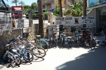 """фото Прокат велосипедов, Отель """"Golden Donaire Beach 3*"""", Салоу"""