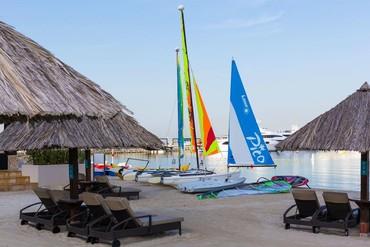 """фото развлечения, Отель """"Le Meridien Mina Seyahi Beach Resort & Marina"""" 5*, Дубай"""