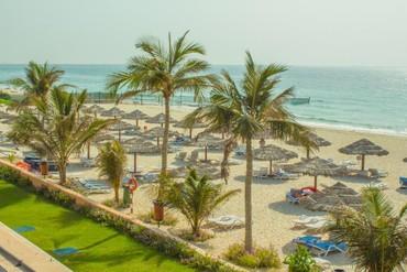 """фото пляж, Отель """" Lou'lou a Beach Resort"""" 3*, Шарджа"""