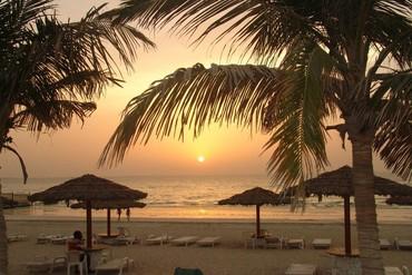"""фото пляж/море, Отель """" Lou'lou a Beach Resort"""" 3*, Шарджа"""