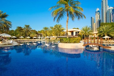 "фото Бассейн, Отель ""Habtoor Grand Beach Resort & Spa"" 5*, Дубай"