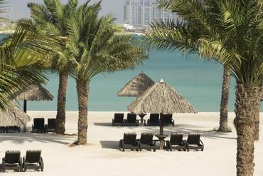 "фото пляж, Отель ""Le Meridien Mina Seyahi Beach Resort & Marina"" 5*, Дубай"