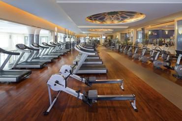"""фото тренажерный зал, Отель """"Madinat Jumeirah Mina A Salam Hotel 5*"""", Дубай"""