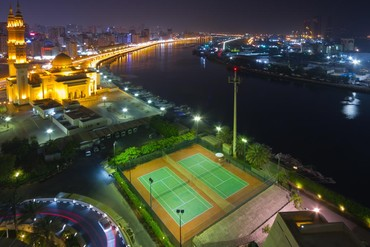 """фото Спортивная площадка, Отель """"Radisson Blu Resort Sharjah"""" 4*, Шарджа"""