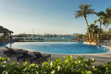 """фото бассейн, Отель """"Le Meridien Mina Seyahi Beach Resort & Marina"""" 5*, Дубай"""