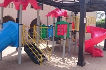 """фото Детская площадка, Отель """"Iberotel Miramar Al Aqah Beach Resort"""" 5*, Фуджейра"""