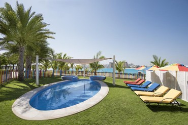 """фото Детский бассейн, Отель """"Rixos The Palm Dubai"""" 5*, Дубай"""