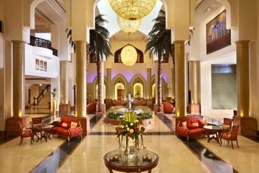 "фото Холл, Отель ""Kempinski Hotel Ajman"" 5*, ОАЭ"
