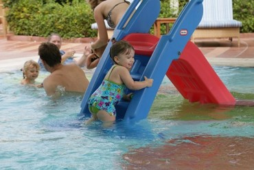 """фото Детский бассейн, Отель """"Kempinski Hotel Ajman"""" 5*, ОАЭ"""