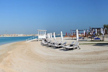 "фото Пляж, Отель ""Rixos The Palm Dubai"" 5*, Дубай"