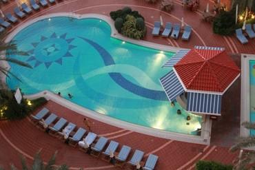 "фото Бассейн, Отель ""Kempinski Hotel Ajman"" 5*, ОАЭ"