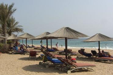 """фото Пляж, Отель """"Iberotel Miramar Al Aqah Beach Resort"""" 5*, Фуджейра"""