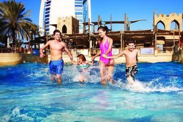 """фото бассейн, Отель """"Jumeirah Beach Hotel"""" 5*, Дубай"""