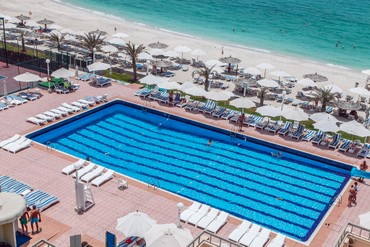 "фото Бассейн, Отель ""Sharjah Carlton Hotel"" 4*, Шарджа"