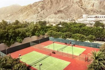 """фото Спортивная площадка, Отель """"Fujairah Rotana Resort & SPA 5*"""", Фуджейра"""
