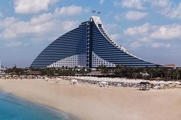"""фото пляж/море, Отель """"Jumeirah Beach Hotel"""" 5*, Дубай"""