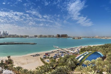 "фото Пляж, Отель ""Rixos The Palm Dubai"" 5*, Дубай"
