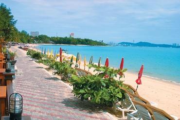 """фото пляж/море, Отель """"Long Beach Garden Hotel & Spa"""" 4*, Паттайя"""