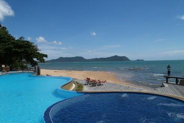 """фото пляж/море, Отель """"Sunset Park Resort & Spa"""" 4*, Паттайя"""