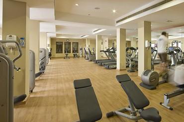 """фото Тренажерный зал, Отель """"Iberotel Miramar Al Aqah Beach Resort"""" 5*, Фуджейра"""